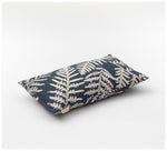 Ink & Spindle - Rectangle Cushion – Bracken in Bluestone
