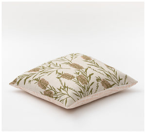 Ink & Spindle - 45cm Cushion – Bottlebrush in Bushleaf & Grass