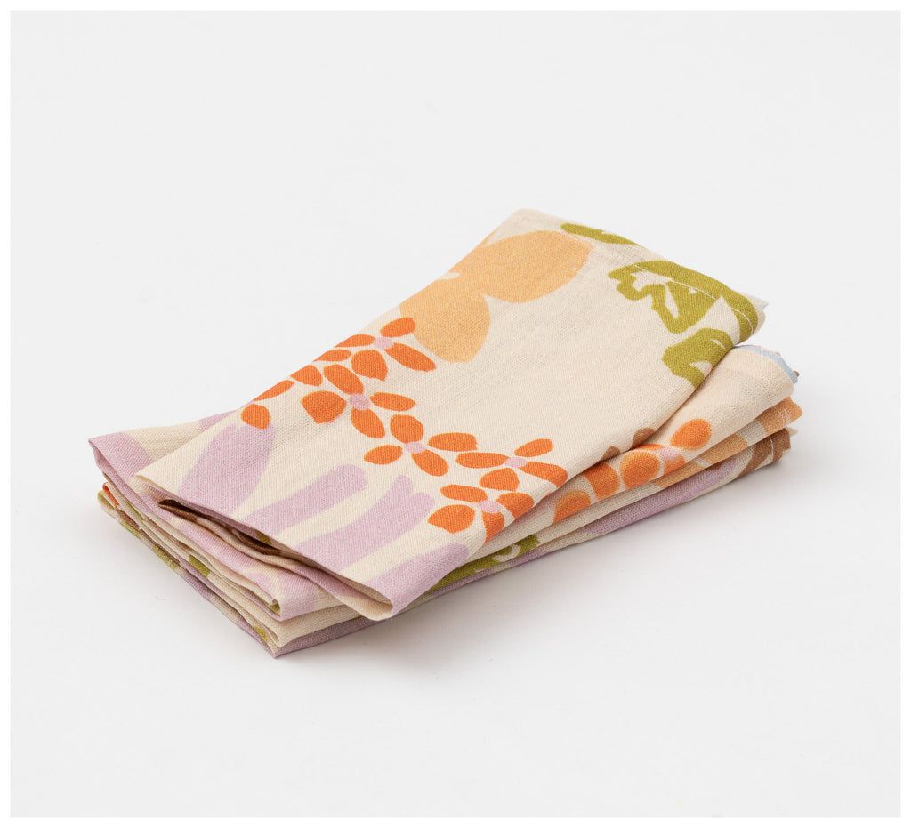 Mosey Me - Garden Napkins - Set of 4