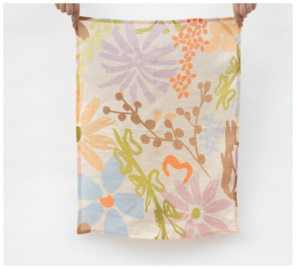 Mosey Me - Garden Tea Towel