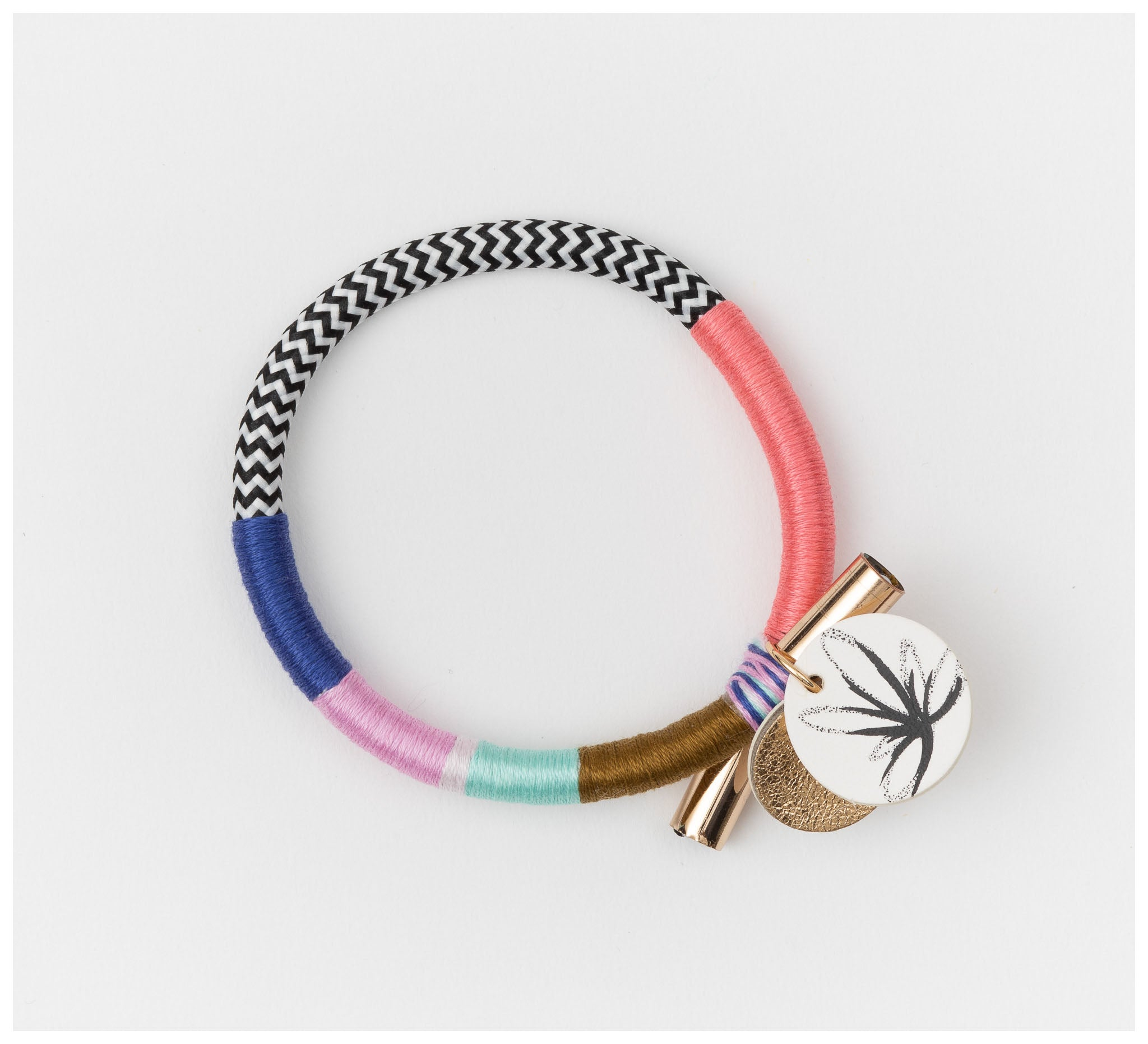 Sarah Makes These - Out With A Bang Bangle - Hibiscus