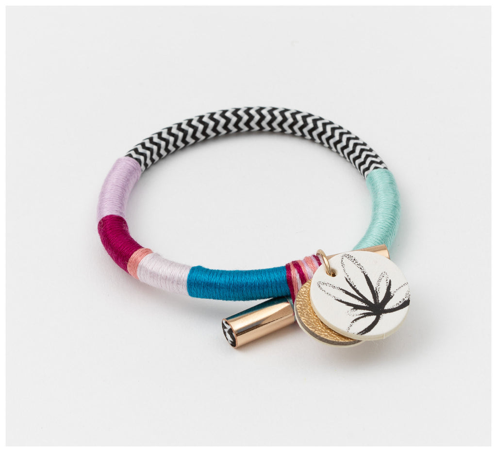 Sarah Makes These - Out With A Bang Bangle - Dahlia