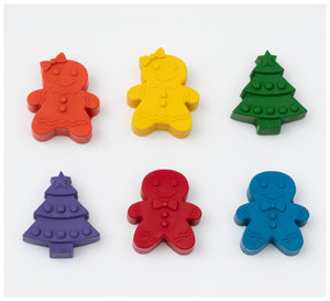 Tinta Crayons - Gingerbread and Christmas Trees Crayons