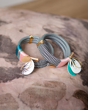 Sarah Makes These - Fisty Cuffs Cuff - Peony