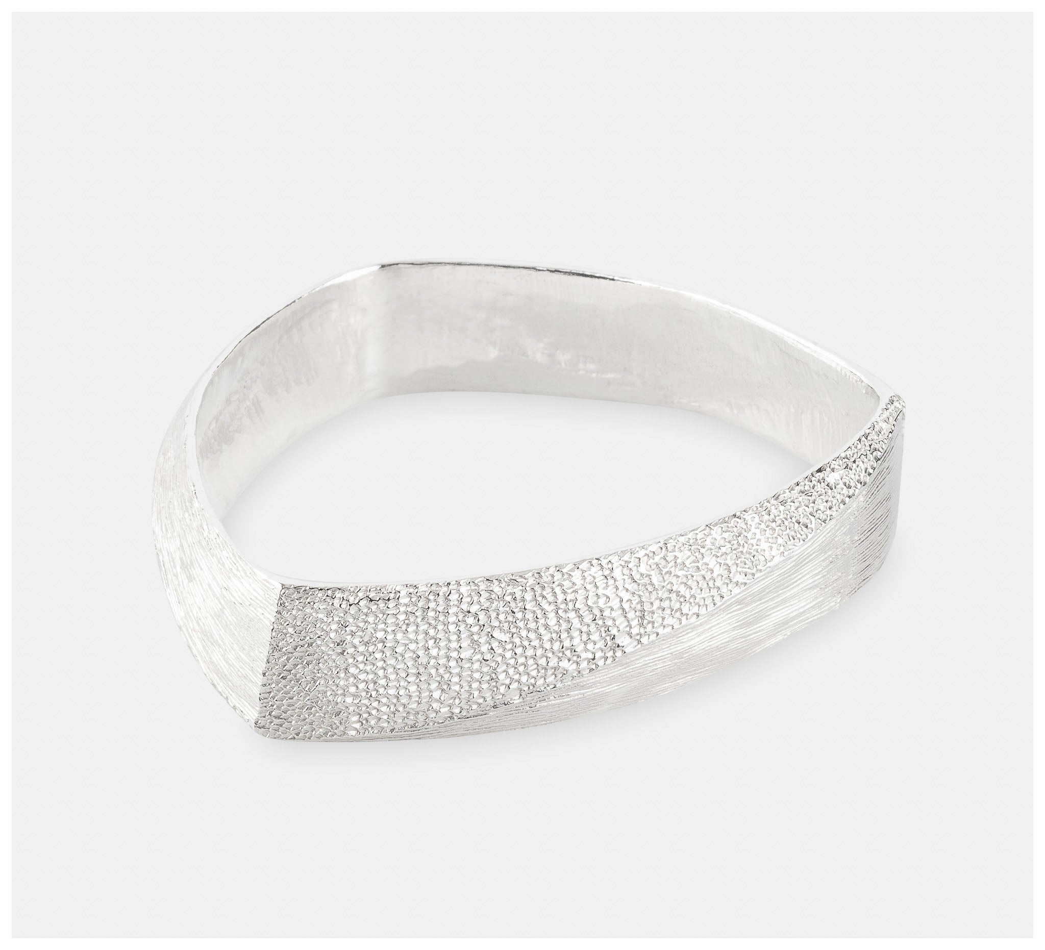 Abby Seymour – Peak Sterling Silver Bangle