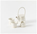 State of Permanence - Tea set - White