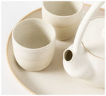 State of Permanence - Tea set - Sand