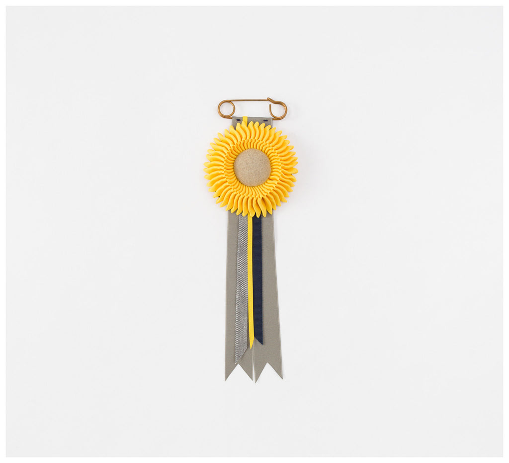 Skinny Wolf - Yellow Rosette - Small