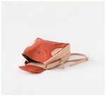 Oktoberdee - Aleut Leather Backpack - Soil & Peony Pink