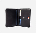 Blackinkk - Travel Wallet RFID - Kangaroo Leather - Black