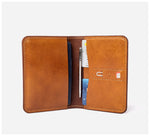 Blackinkk - Travel Wallet RFID - Kangaroo Leather - Vintage Caramel