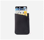 Blackinkk - Two Pocket RFID Cardholder - Kangaroo Leather - Black