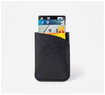 Blackinkk - Two Pocket Cardholder - Kangaroo Leather - Black