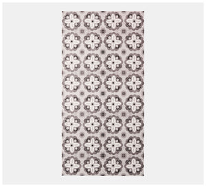 Bonnie & Neil x Byzantine Design - Vinyl rug - Aegean Black