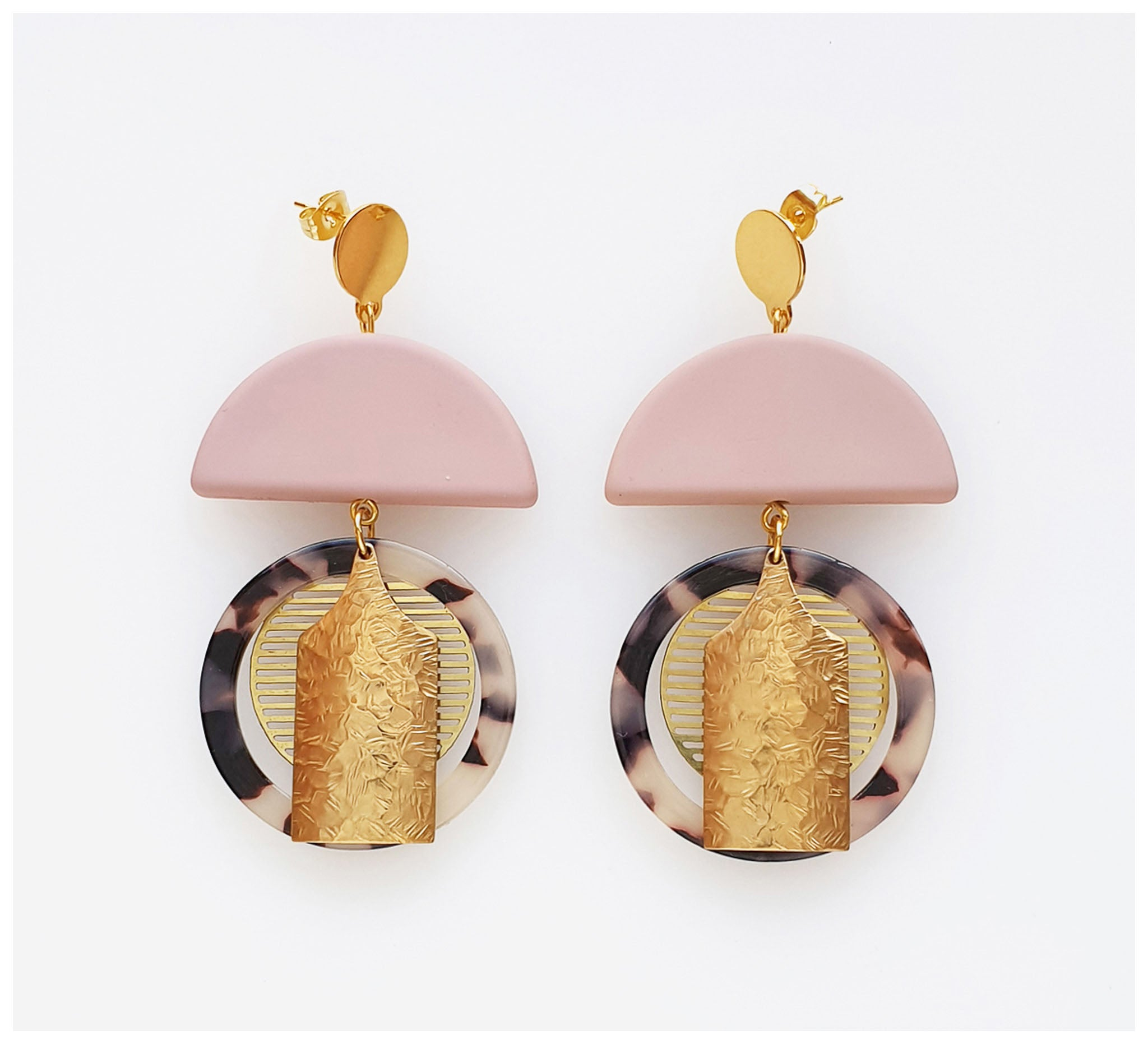 Middle Child - Astor Earrings - Pink