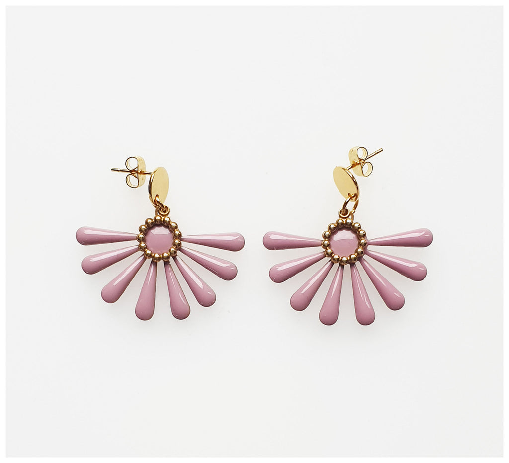 Middle Child - Flossie Earrings - Lilac