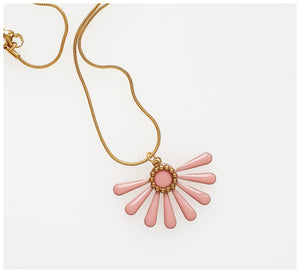 Middle Child - Flossie Necklace - Pink
