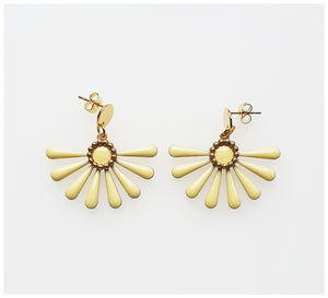 Middle Child - Flossie Earrings - Lemon