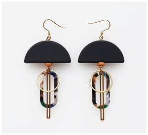 Middle Child - Halyard Earrings - Black