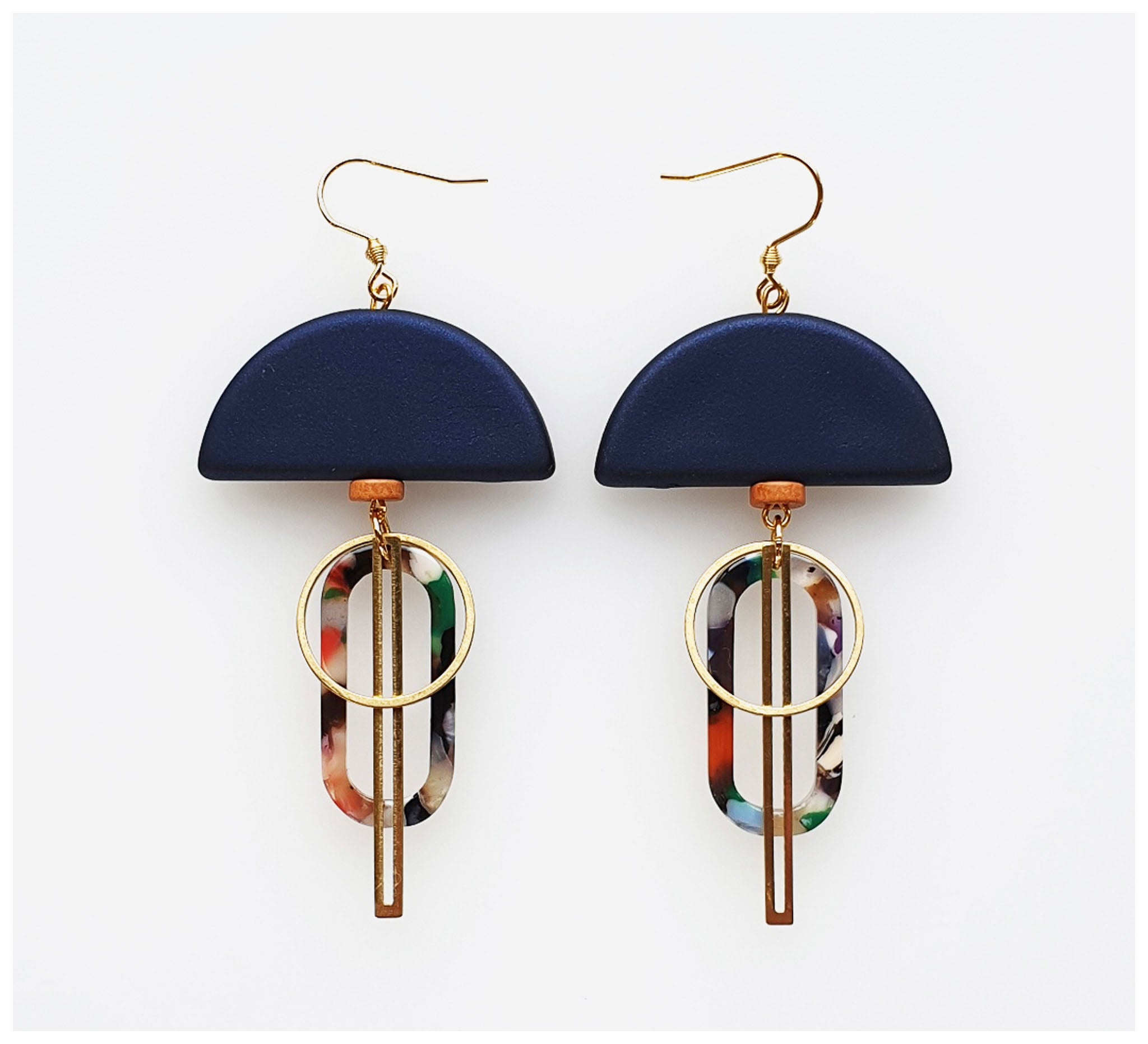 Middle Child - Halyard Earrings - Navy