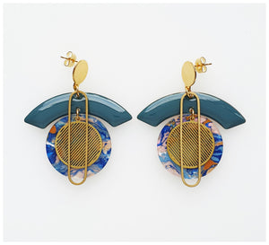Middle Child - Voyage Earrings - Blue