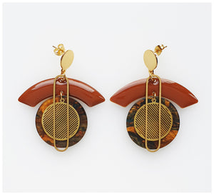 Middle Child - Voyage Earrings - Brown