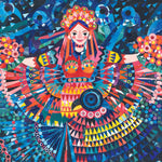 Okay Lady - Night Dancer Mindful Puzzle - 400 Piece