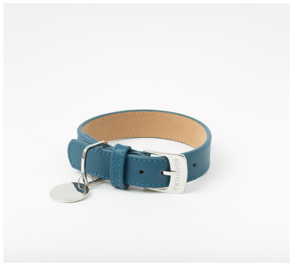 Roch Lola - The Leather Collar - Indigo