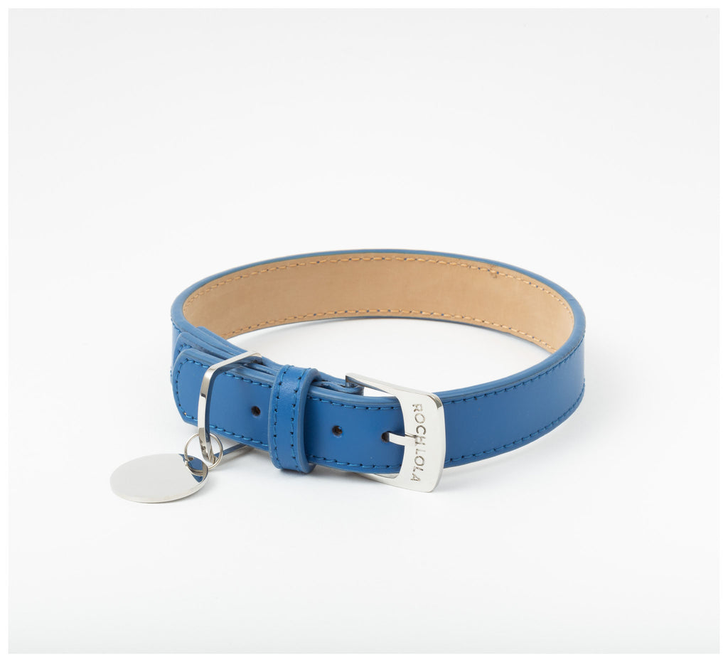 Roch Lola - The Leather Collar - Cobalt