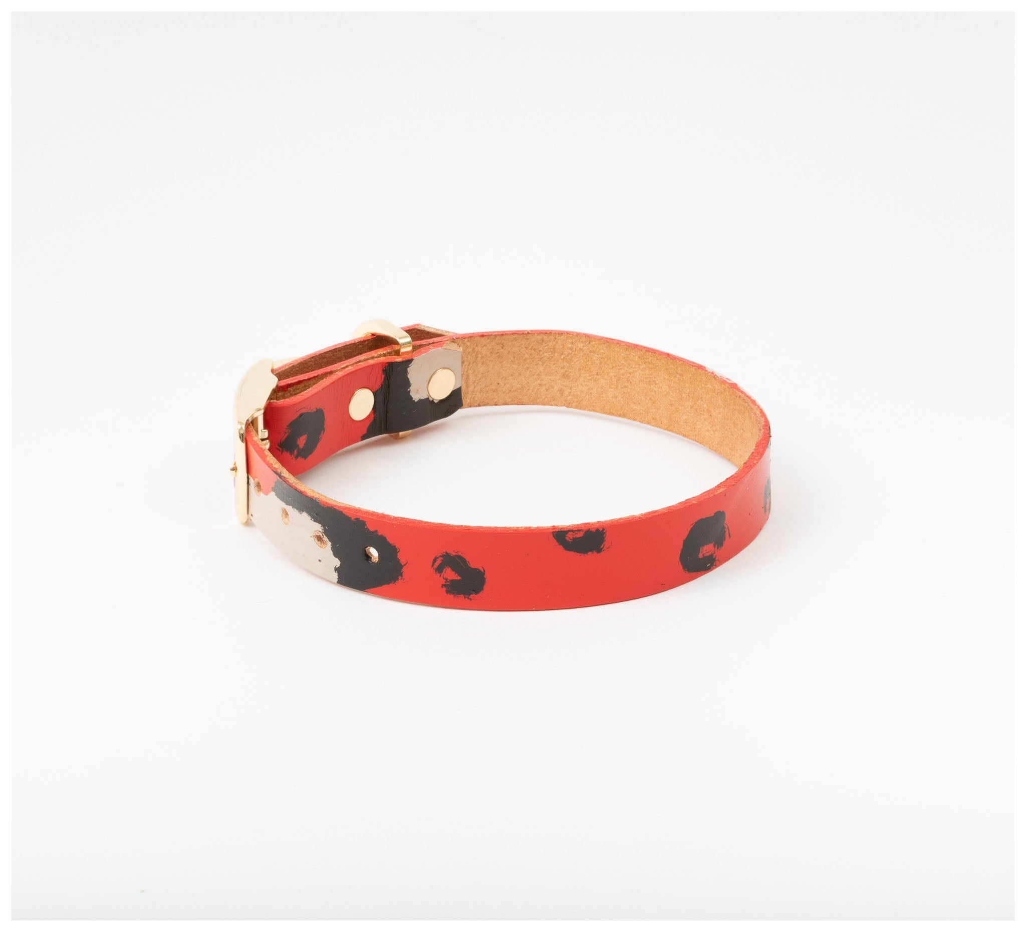 Nice Digs - Animal Red Collar