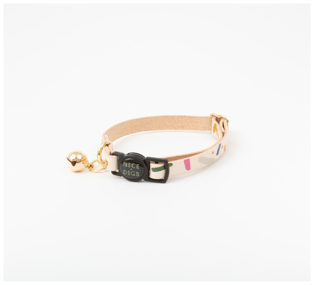 Nice Digs - Jungle Confetti Cat Collar