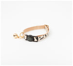 Nice Digs - Tiggy Black Cat Collar
