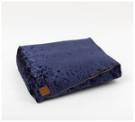 Nice Digs - Velvet Midnight Slouch Bed
