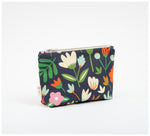 Fabric Drawer - Zip Purse - Winter Garden