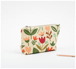 Fabric Drawer - Zip Purse - Spring Garden