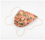 Fabric Drawer - Drawstring Bag - Pink Oasis