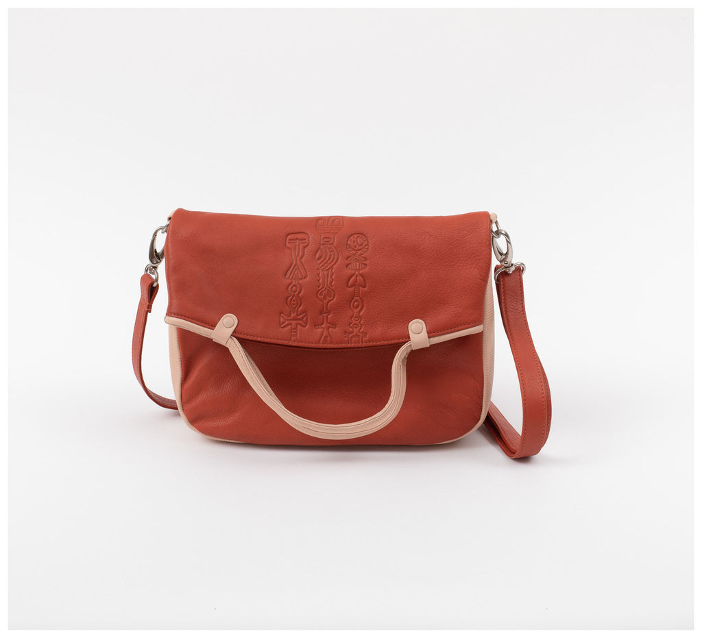 Oktoberdee - Monon Leather Satchel - Totem - Soil