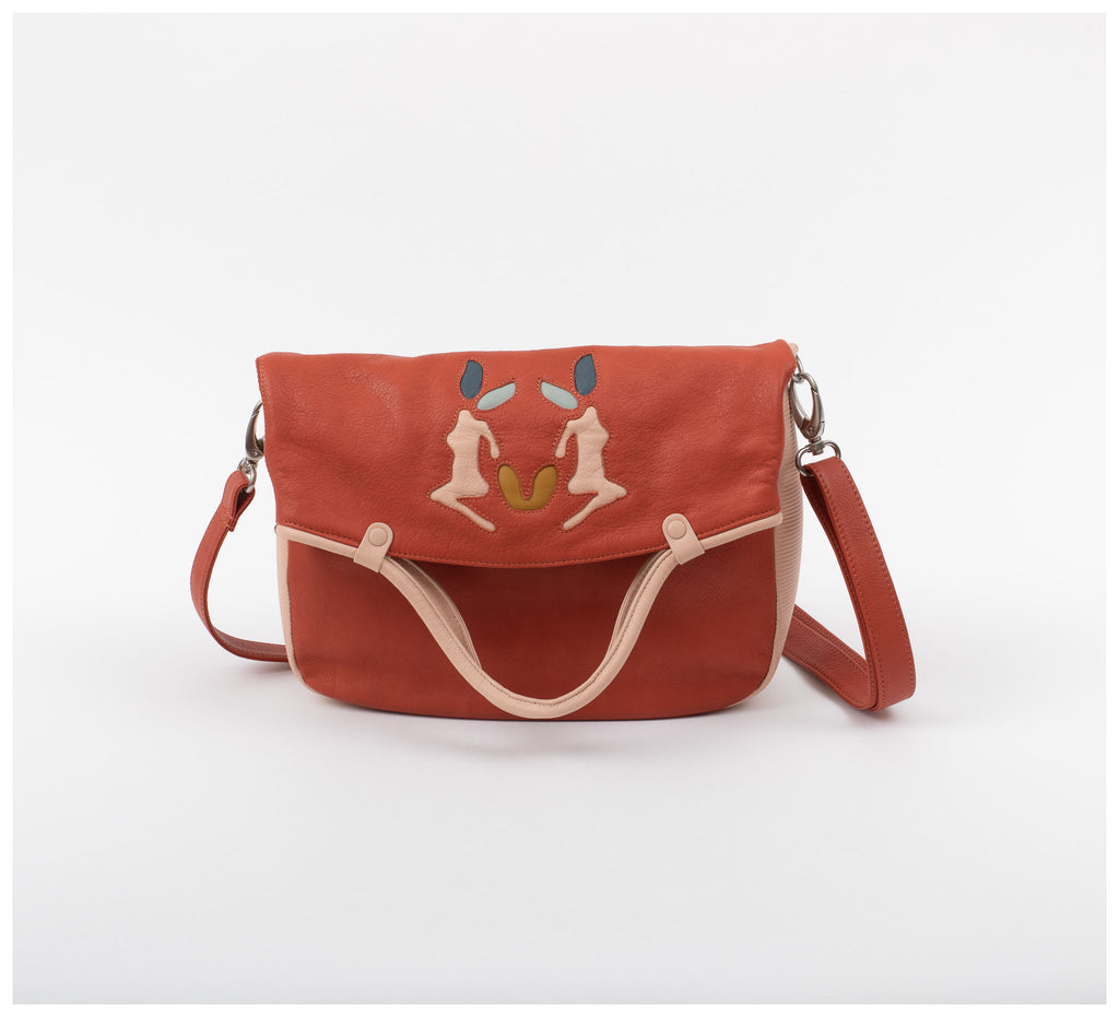 Oktoberdee - Monon Leather Satchel - Collab - Soil