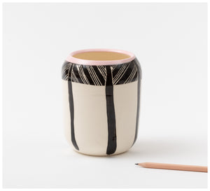 Trade the Mark - Crosshatch - Vase