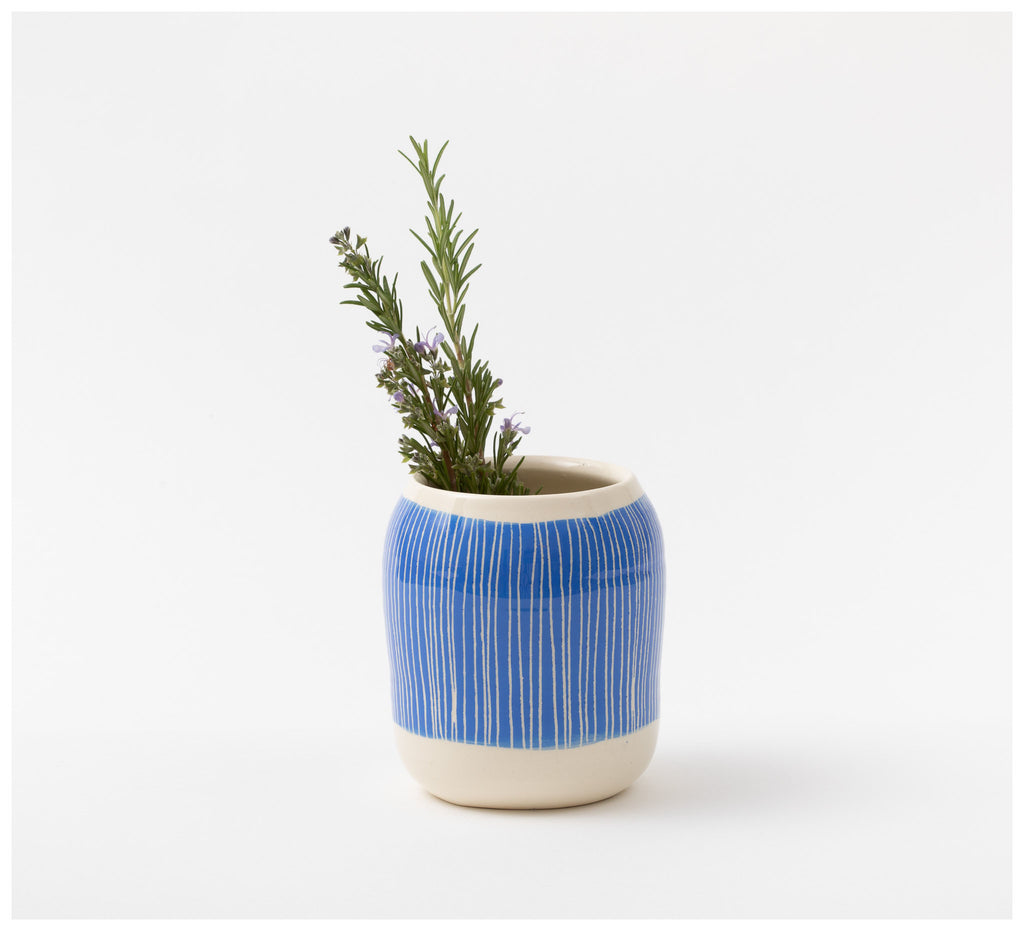Trade the Mark - Stripey Road - Vase