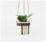 Trade the Mark - Crosshatch – Hanging Planter