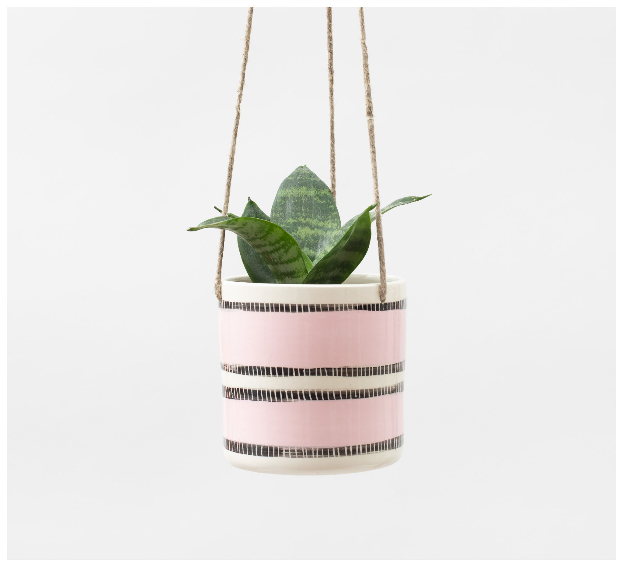 Trade the Mark - Stitched Up – Hanging Planter