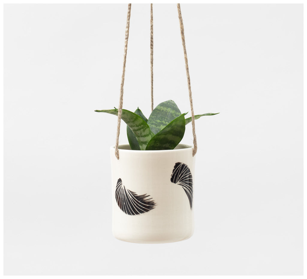 Trade the Mark - Linear Brush – Hanging Planter