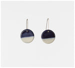Trade the Mark - Half Moon – Short Drop Earrings