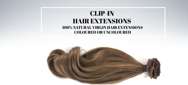 RUSSIAN CLIP-IN HAIR EXTENSIONS