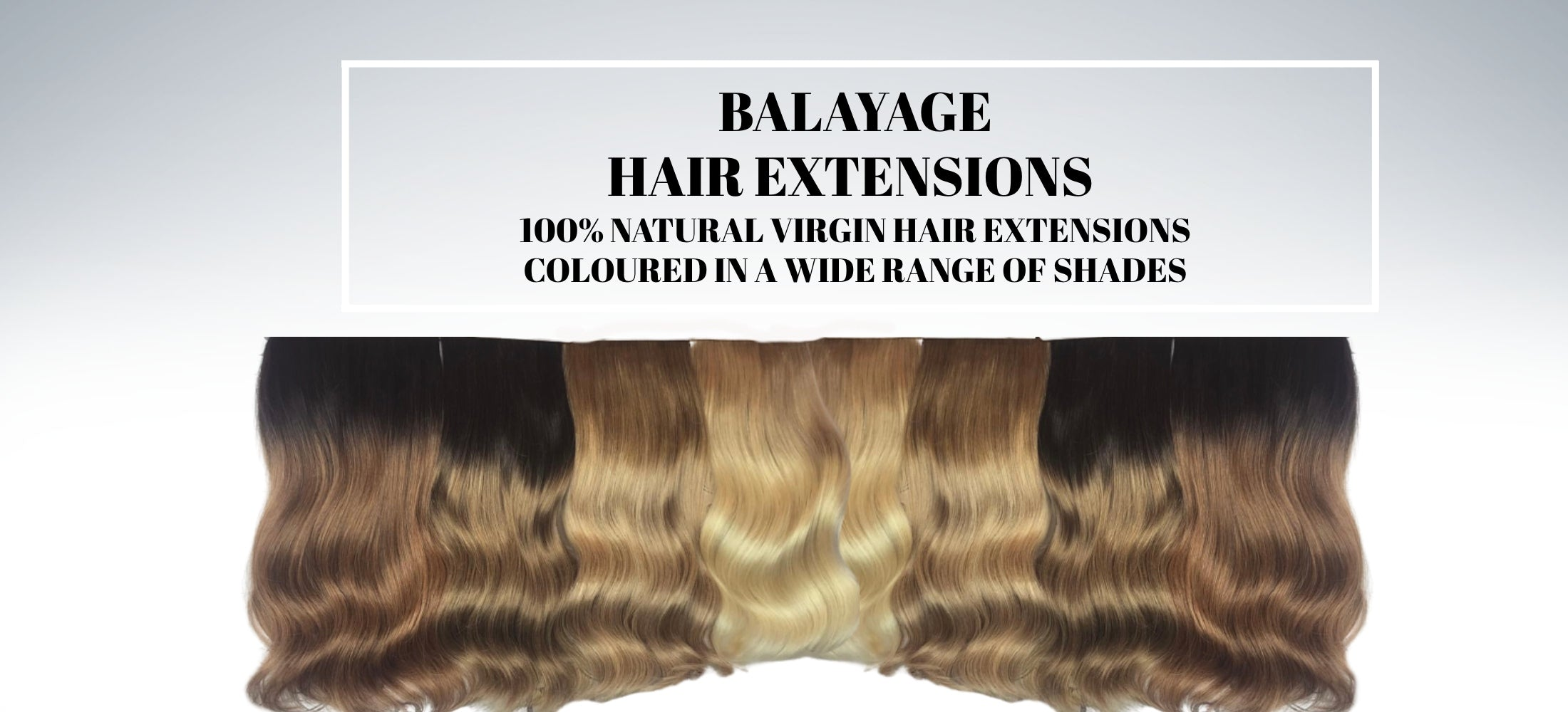 Russian Balayage Ombre Hair Extensions Australia