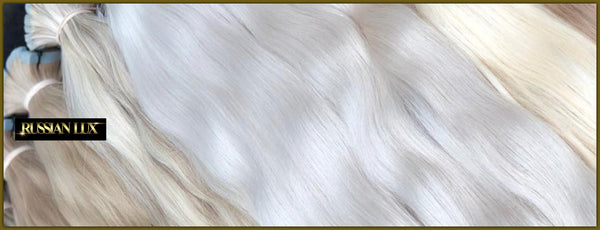 Blonde Russian hair extensions Australia www.russianhairextensions.com.au