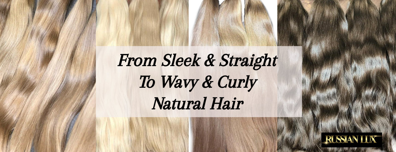 Russian slavic wholesale hair extensions