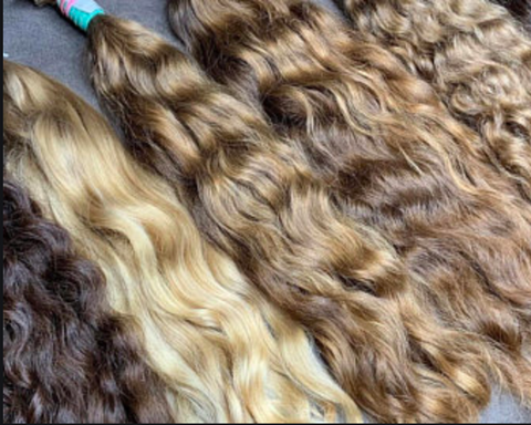 bulk Russian hair extensions