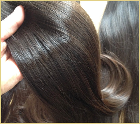 Natural virgin hair for the best hair extensions